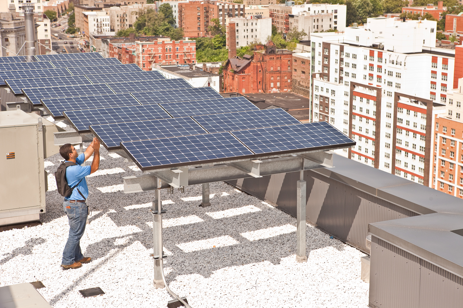 Solar Installation Design by Bright Power, NYC