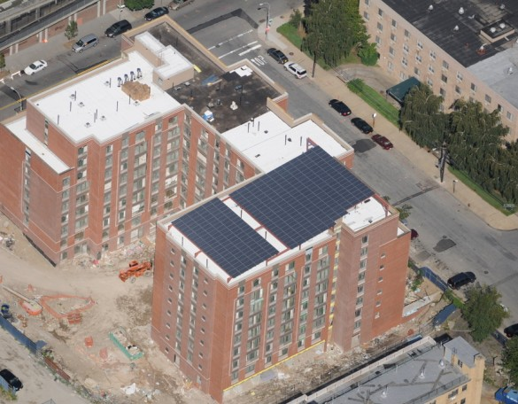 Completed Dumont Solar Aerial photo