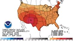 Fall 2020 Temperature Maps