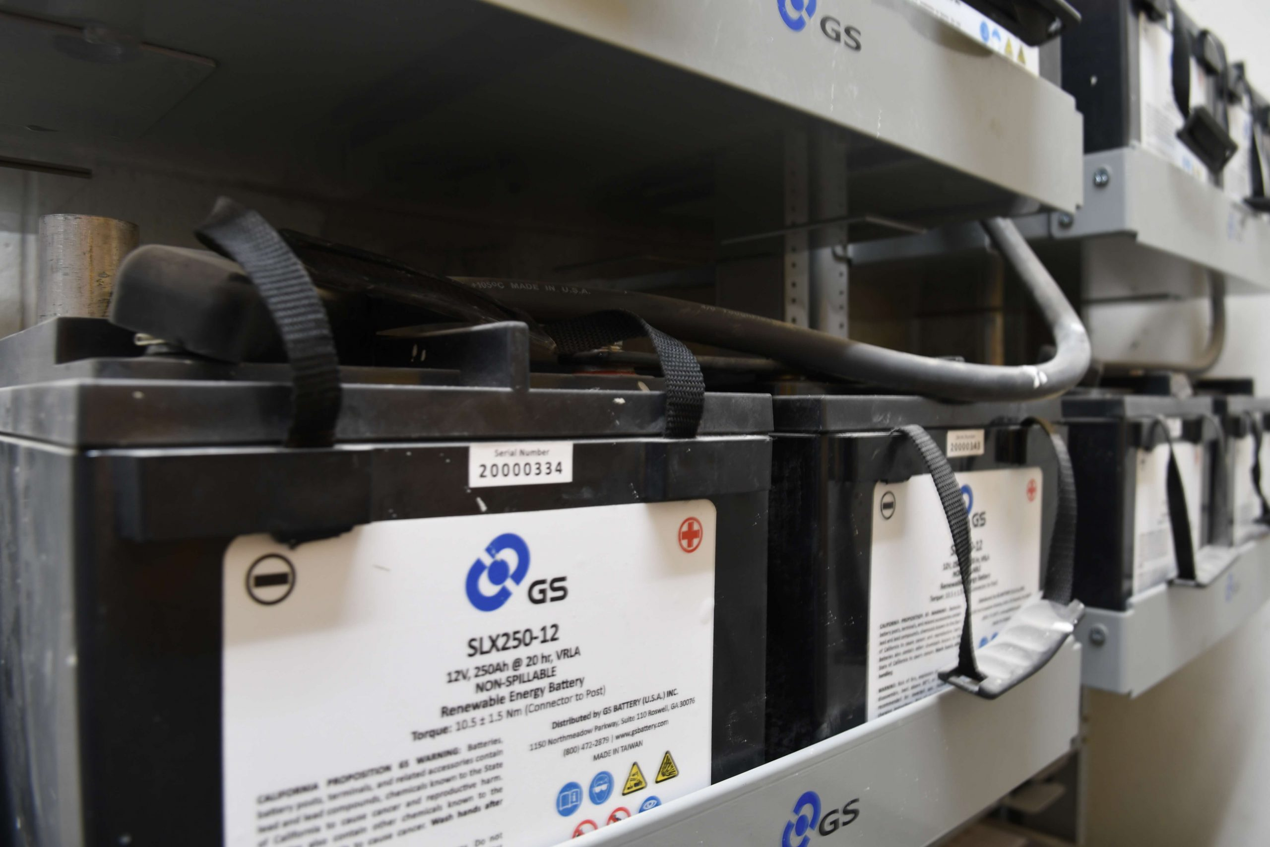 Bright Power battery storage