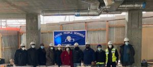 group at 2050 Grand Concourse topping off